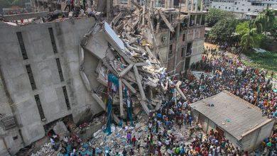 Photo of تصاویر ساختمانهای فروریخته برج رانا در داکا بنگلادش 24 آپریل 2013