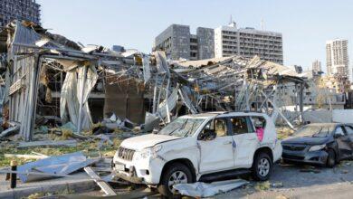 تصویر از تصاویری از انفجار 4 آگوست بیروت