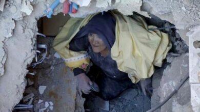 تصویر از زلزله در ازمیر ترکیه